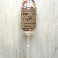 Thimblepress® THE ORIGINAL PUSH-POP CONFETTI™