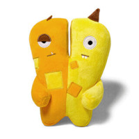 Alien Flex Jimmy & Joe | Plush Dog Toy