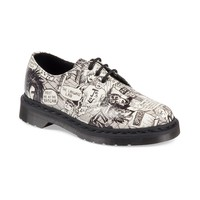 Womens 1461 3-Eye Mark Wigan Oxford