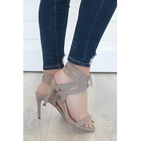 Claire Heels - Taupe