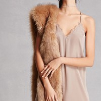 Lush Satin Slip Dress