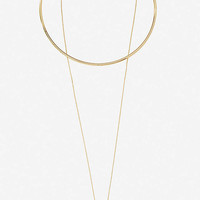 COLLAR AND PENDANT NECKLACE from EXPRESS