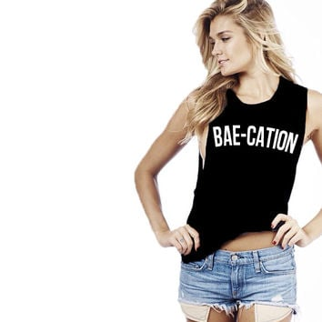 Bae-Cation Muscle Tank
