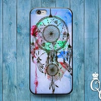 iPhone 4 4s 5 5s 5c 6 6s plus + iPod Touch 4th 5th 6th Generation Cute Cool Dreamcatcher Blue Green American Indian Art Dreamer Dream Case +