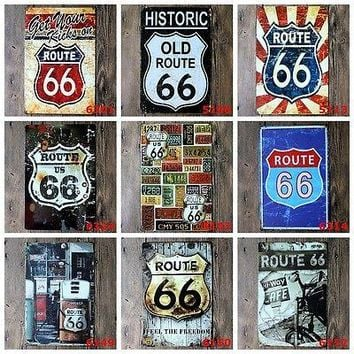 Metal Tin Signs Vintage Plaque Club Wall Decor Pub Bar Home Shop Poster Pictures Old Wall Metal Painting ART Decor