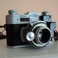 Vintage Kodak 35 Rangefinder Camera 1940s Anastigmat 50mm Photography Film Camera Christmas Holiday Gift