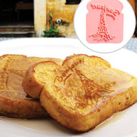 FredFlare.com - French Toast Stamp - Bonjour Stamp