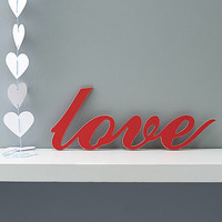 'Love' Wooden Word Wall Art