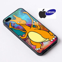 pokemon charizard --iphone 5,5s,4s,4,5c and samsung s3 i9300,s4 i9500