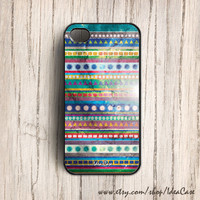 Aztec iphonn 4 or 4s case , iphone 5 case , Tribal Geometric Pattern Galaxy - Plastic Iphone Case