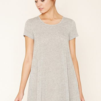 Burnout Knit Trapeze Dress