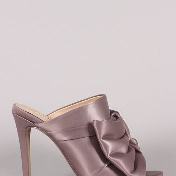 Satin Lover Heel