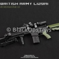 Green Wolf Gear OD GREEN British L129A1 Sniper Rifle Mint in Box