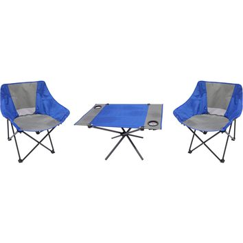 3-Piece Portable Table and Chair Set