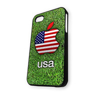 Apple Logo USA iPhone 5C Case