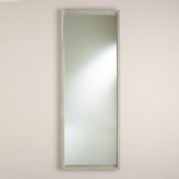 Gray Rectangular Camden Mirror - World Market