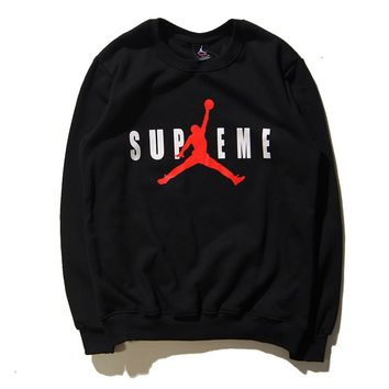 a3b2ba0b7228f4 Best Deal Online Men s Supreme X Air Jordan Long Sleeve T-Shirt