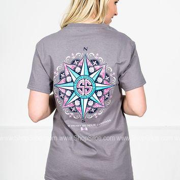 Heart Compass | Grey | Simply Southern