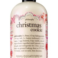 philosophy 'christmas cookie' shampoo, shower gel & bubble bath (Limited Edition) | Nordstrom