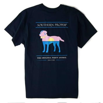 Sunset Party Animal: Navy