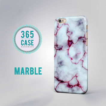 iPhone 6 case Marble White Red Cover Natural Stone iPhone 5c case iPhone 5s case htc m7 case Samsung Galaxy S3 S4 S5