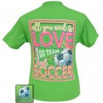 "Girlie Girl Originals ""Soccer"" Tee"