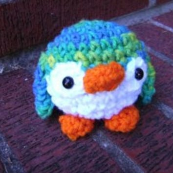 Small Baby Penguin Crochet Amigurumi Plush Toy