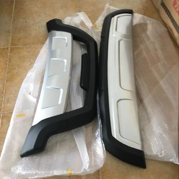 Car styling ABS Front + Rear Surround bumper cover trim For Lifan x60 2PCS