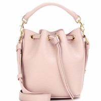 Small Bucket leather shoulder bag