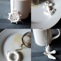 Anchors Aweigh Tea Infuser design by imm Living