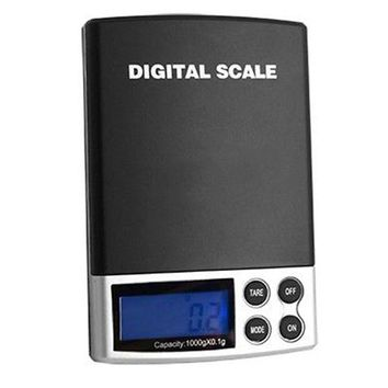 LMFON new 1000g x 0 1g lcd display mini electronic digital jewelry pocket scale balance weight weighing scale free shipping
