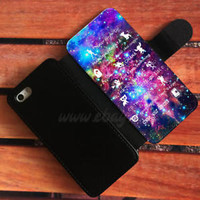 11 Best Disney Lessons Wallet iPhone cases Galaxy Nebula Samsung Wallet Case