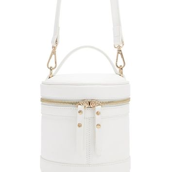 Cylindrical Crossbody Bag