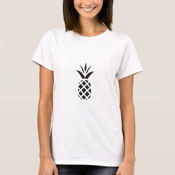 Black Pine Apple T-Shirt