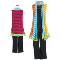 Rainbow Vest                                       - New Age & Spiritual Gifts at Pyramid Collection