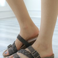 Cyleigh Sandals - Chocolate