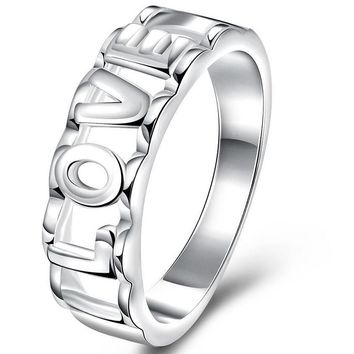 Fashion Silver Plated Ring For Women