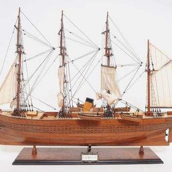 S.S. Gaelic L80 Hancrafted Sail Boats Models