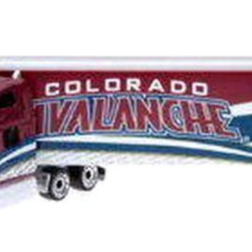 COLORADO AVALANCHE 2008-09 Peterbilt Diecast Semi Tractor-Trailer Truck 1/80 Scale By UpperDeck