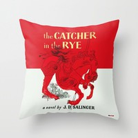 The Catcher in The Rye Pillow