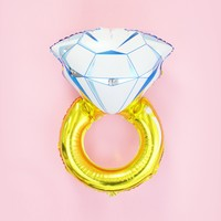 Diamond Ring Foil Balloon