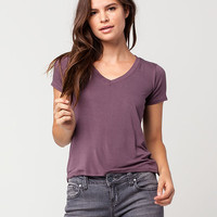 FULL TILT V-Neck Womens Tee | Essentials