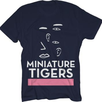 Miniature Tigers Blue T