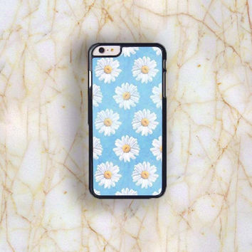 Dream colorful Dream colorful Cute Daisy Plastic Case Cover for Apple iPhone 6 Plus 4 4s 5 5s 5c 6