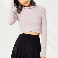 Silence + Noise Ansley Crossover Top - Urban Outfitters