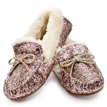 IRIS Gifts For INC International Concepts Sequined Slippers, Only at Macy's - For Her - Holiday Gift Guide - Macy's
