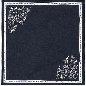 Disney Parks Be Our Guest Lumiere Black Chalkboard Napkin New with Tags