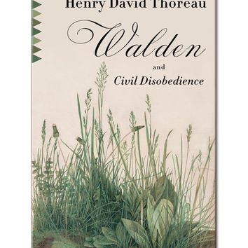 Walden & Civil Disobedience Paperback Book
