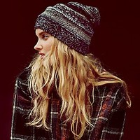 Free People  Patchwork Beanie at Free People Clothing Boutique