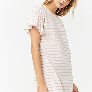 Slub Knit Shift Dress